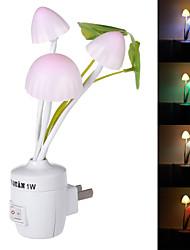 NO - Сенсор - Ночные светильники - синий/красный/зеленый/Натуральный белый - AC - 1 - ( W ) - AC 220 - ( V )