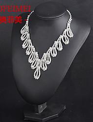 Bridal Jewelry Set Korean Fashion hollow leaves necklace bride wedding dress accessories