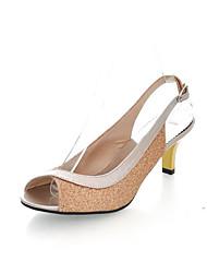 Women's Shoes Kitten Heel Peep Toe Sandals Shoes More Colors available