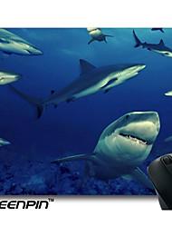 tapis de souris personnalisé seenpin conception de requin