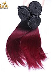 Âmbar Cabelo Peruviano Retas tece cabelo
