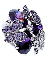 Elanda Women Ring , Vintage / Party / Work / Casual Alloy / Cubic Zirconia / Rhinestone