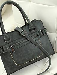 2015 spring women bag retro nubuck leather bag Korean tide hand-shoulder Messenger Bag Lady bag