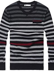 Men's 100% Cotton Pullover Sweater
