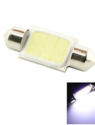 36mm 3W COB LED 200lm 6000K Cold White Light Dome Festoon Reading Bulb Lamp for Car (DC 12V)