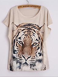 Katoenmixen Vrouwen - T-shirt - Korte mouw