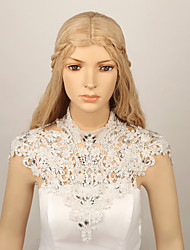 Ladies' Wedding  Lace Rhinestone Flowers Shoulder Chains