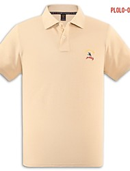 U&Shark Men's Fine Cotton Short Sleeve Polo Shirt/polo-038