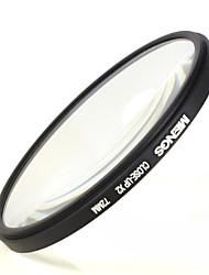 mengs® 72mm Nahaufnahme x2 Filter mit Aluminiumrahmen für Digitalkamera