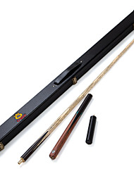 3/4 Jointed Handmade ash snooker/Pool Cue O'min Enlightenment billiard cue+Cue Case