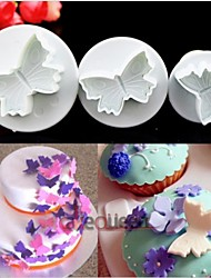 Kitchen DIY Cake Cookies Sugarcraft Fondant Butterfly Plunger Mold