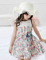 Girl's Princess Floral Dress