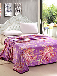 Shuian® Flano Flannel Air Sofa Blanket Bedding Multi Dimension