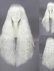 28inch Beautiful Curl White Lolita WIg