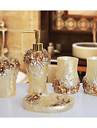 The Gorgeous Manor Empire Pattern Bathroom Ware 5 Sets