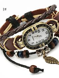 estilo retro pulseira palácio relógio para senhora