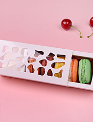 Hollow Macarons Chocolate Gift Box Packaging (Excluding Accessories)(Set of 12)