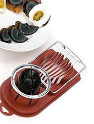 dispositivo ovo cozinha slicer molde cortador de bordas de flores de corte (cor aleatória) 20,5 x 9 x 4cm