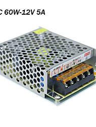 ZhuoLan - Источник LED излучения - 60 - ( W 5A - ( W ) - AC85-265 - ( V ) - 12V - ( V )