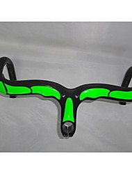 Full Carbon Fiber Green color Painted High Quality Road Bike Stem Handlebar