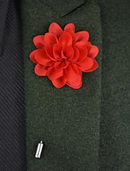 "Bouquets de Noiva Alfinetes de Lapela Cetim / Metal 8.66""(Aprox.22cm)"