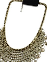 Personalized Retro Necklaces 1pc
