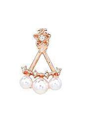 Women's Imitation Pearls Earrings