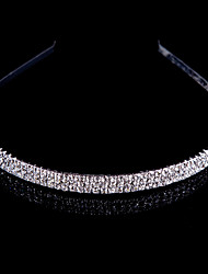 Women Alloy Headbands With Rhinestone Wedding/Party Headpiece