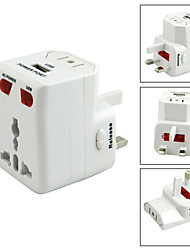 Universal World Wide Travel USB Charger Adapter Plug