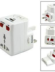 Universal weltweiten Reise-USB-Ladegerät-Adapter-Stecker