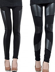 VICONE  Women's Sexy Faux Leather Leggings Pants(S/M/L/XL/XXL/XXXL)