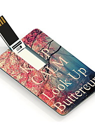 4GB Keep Calm and Look Up ButterCup Design Card USB Flash Drive