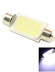 39mm 3W COB LED 200lm Cold White Light Dome Festoon Reading Bulb Lamp for Car (DC 12V)