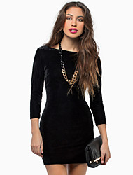 Women's Sexy Bodycon Halter Mini Dress