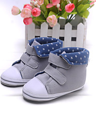 Baby Shoes Casual Fabric Fashion Sneakers Gray