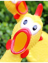 Haustier-Versorgungs schreien Huhn Kauen Spielzeug für Haustiere Hunde / Katzen