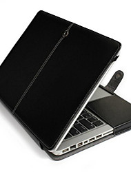 "Case for MacBook Pro 13.3"" Solid PU Leather Material Business PU Leather Case Stand Case Cover"