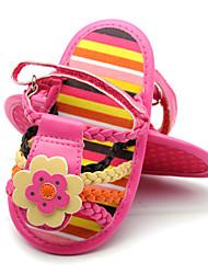 Chaussures bébé Mariage/Habillé/Décontracté Synthétique Sandales Rouge