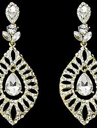 YOONHEEL Women's Vintage High Quality Rhinestone Earrings