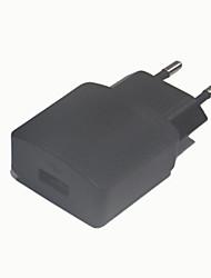 5v 1a 1USB UE adaptateur d'alimentation, noir