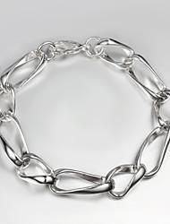 925 Silver links design Bracelet