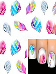 Water Transfer Printing Nail Stickers 1724