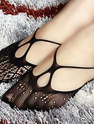 Damen Socken  -  Spitze/Kern-gesponnenes Garn Medium