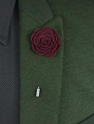 Свадебные цветы Бутоньерки Атлас Металл 22 см