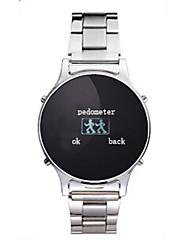 Tecnologia Vestível - Relógio inteligente BP-1 - Bluetooth 4.0 -Chamadas com Mão Livre/Controle de Mídia/Controle de Mensagens/Controle