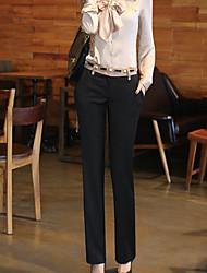 Women's Wild Career OL Straight Pants