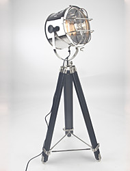 Table Lamp/Desk Lamps Arc Traditional/Classic/Rustic/Lodge Wood/tripod searchlight lamp