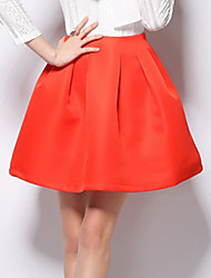 Women's Spring Fashion Major Suit Pure Simple Skirt