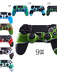 Color Combo Flexible Silicone Protective Skin for PS4 Game Controller