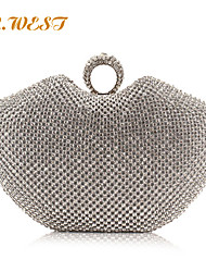L.WEST® Women's Noble And Elegant Apple Shape DiamondsParty/Evening Bags